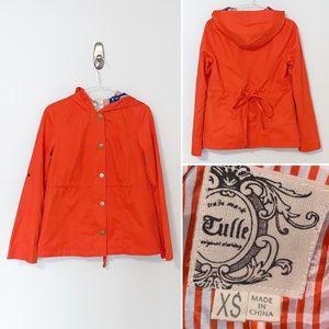 Tulle | C7927 | Anthropologie Tangerine Jacket XS